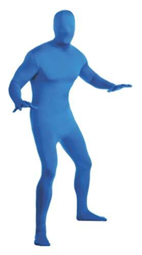 Rubie's Adult Solid Color 2nd Skin ,Medium,Blue