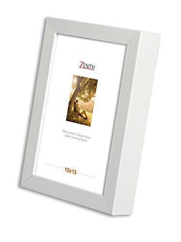 Victor Bilderrahmen Schlemmer 18x24 cm in weiß, moderner Bilderrahmen mit breiter Leiste