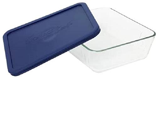 Storage Plus 11 Cup Rectangular Dish with Lid [Set of 2]