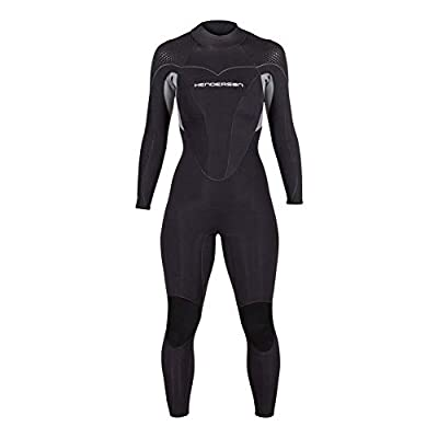 Henderson Women's Thermoprene Pro Wetsuit 5mm Back Zip Fullsuit Black