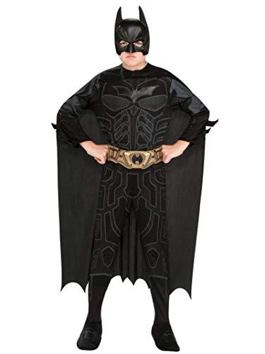 The Dark Knight Rises Batman Kostüm für Kinder/Jungen 5/6Yahre