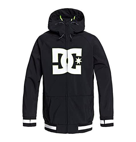 DCSHJ|#DC Shoes Spectrum - Giacca Guscio Da Snow Da Uomo Giacca Guscio Da Snow, Uomo, black, M