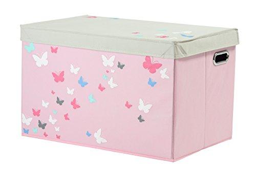 My Note Deco - 064597 Schmetterlingsdesign-Spielzeugkiste, XS