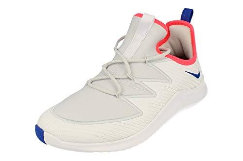 Nike Wmns Free TR Ultra, Zapatillas de Deporte Mujer, Multicolor (White/Racer Blue/Pure Platinum 100), 40.5 EU