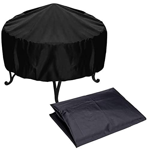 mlloaayo 85 * 40cm / 77 * 31cm Cubierta De Estufa Al Aire Libre 210D Tela Oxford Impermeable Cubierta De Protección del Calentador A Prueba De Viento para Terraza Estufa De Jardín Al Aire Libre