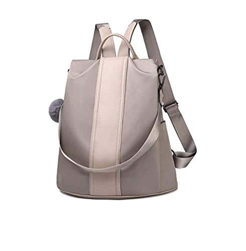 LICll Damen Mode Rucksack Einbruchsicher Freizeitrucksack Leicht Reiserucksack und Schultertasche