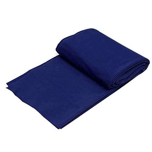 ALEOHALTER Juego de mesa de billar de tela de billar ocho bolas profesional de billar de tela de billar Accesorios de billar Fibra (azul)