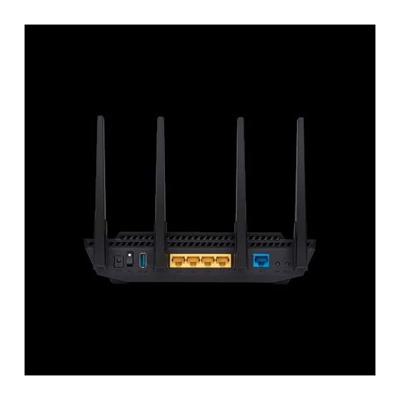ASUS RT-AX58U Dual Band WIFI Router (RT-AX3000) (Renewed) 3 The Next Gen WiFi Standard - Future proof your home network with the next-gen WiFi 6 technology, providing up to 2. 7x faster speed than the previous WiFi generation featuring OFDMA and MU-MIMO technology. Ultra-Fast Wi-Fi - RT-AX3000 supports 160MHz bandwidth and 1024-QAM, boasting a total network speed of 3000 Mbps - 575Mbps on the 2. 4GHz band, and 2402GHz on the 5GHz band. The Most Powerful Mesh System — AiMesh technology allows you to establish an even stronger mesh WiFi system with other ASUS AiMesh compatible routers, ensuring stable and seamless whole home coverage.