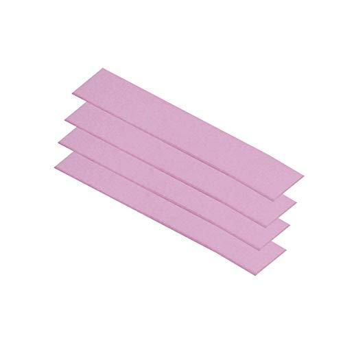 ARCTIC Thermal Pad Basic, Pack de 4 120 x 20 x 1,0 mm Comble Les Espaces, Haute Performance, Manipulation sûre, Antiadhésif, Facile à Installer, Matériau: APT2012 Rose