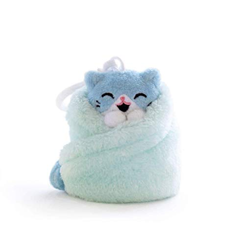 Hashtag Collectibles Purritos 3 inch Cat in Blanket Plush Key Ring Tuna