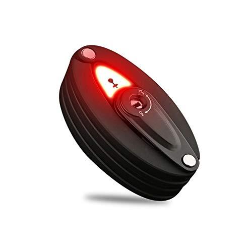 Bloqueo de bicicletas con 100LM Luz trasera plegable antirrobo de advertencia de seguridad multifuncional Camino de bicicletas de montaña bicicletas de bloqueo Fácil de instalar