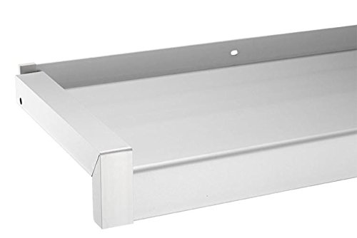 empasa Fensterbank Gleitabschluss Design Ausladung 50-400 mm WEISS ANTHRAZIT SILBER DUNKELBRONZE