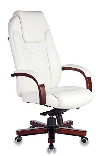 HYPE Chairs Chefsessel T-9923 Echtleder Nussbaum beige, 928333