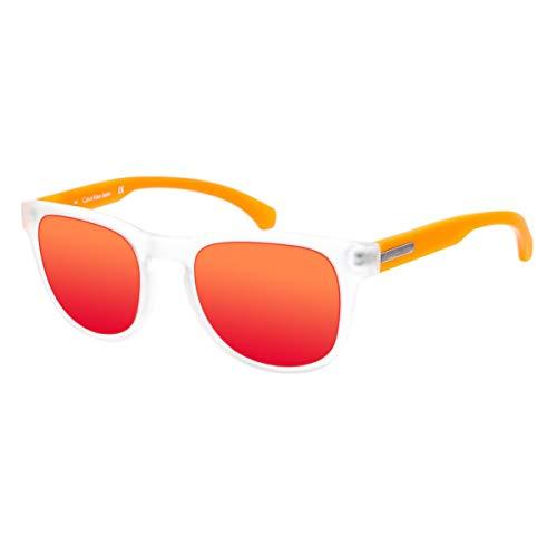 Calvin Klein CKJ783S 000 -49 -20 -140 CALVIN KLEIN JEANS Sonnenbrille CKJ783S 000 -49 -20 -140 Rechteckig Sonnenbrille 49, Weiß