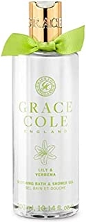Grace Cole LVE2212003 Lily and Verbena Bath and Shower Gel, 300 ml