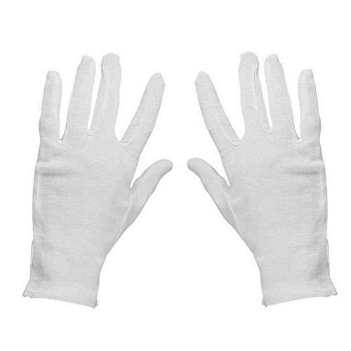gants blancs et costumes de clown ou le Père Noël