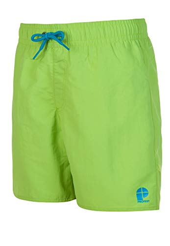 Protest Jungs Badeshort Culture JR Neon Green 152