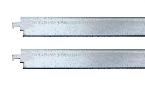 """Steelcase (Old Style) Compatible Lateral File Bar for 36"""" Wide Cabinet (2 Pack)"""