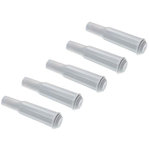 vhbw 5x Wasserfilter Filter passend für Jura Impressa XF70, XS90, XS90 One Touch, XS95 Kaffeevollautomat, Espressomaschine