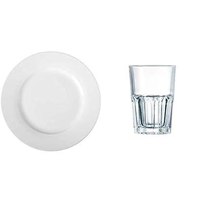 AmazonBasics Dinner Plate Set, 6-Piece by