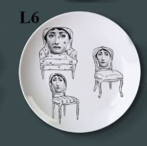 Milan Style Ceramic Wall Plate plaque 5 Ranking TOP3 popular Rest Decoration Decorative