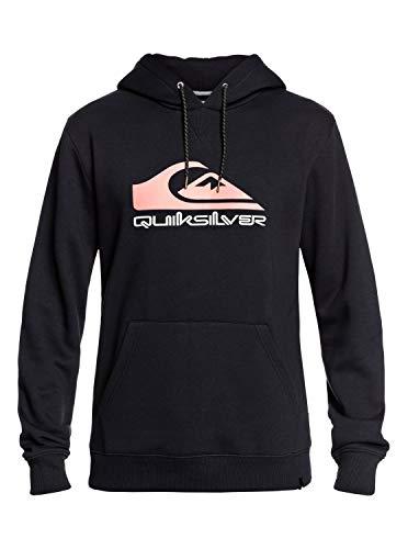 Quiksilver Big Logo Snow - Hoodie for Men - Kapuzenpulli - Männer - L - Schwarz