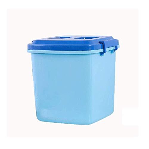 SKYEI Barriles de almacenamiento de granos, contenedores de alimentos secos, dispensadores de cereales, cajas de almacenamiento de arroz, organizadores de cocina