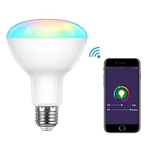 Bestcool Lampadina Intelligente, E27 Lampadine Smart Lampadine Wifi Lampadina LED RGB Compatibile con Alexa e Google Assistant Smart Bulb 12W Telecomando da Smart Phone IOS & Android(2700-6500k & RGB)