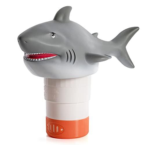 XY-WQ Shark Chlorine Floater, Floating Pool Chlorine Dispenser