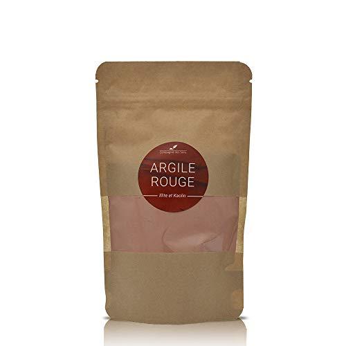 Argile ROUGE - La Compagnie des Sens - 150g - Argile Brute 100% naturelle, qualité Premium - Pour la cosmétique maison