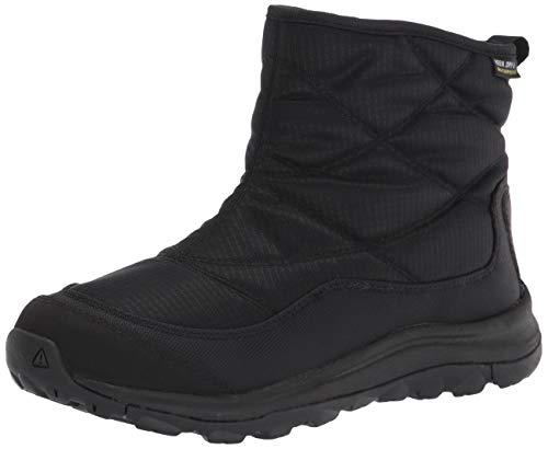 KEEN Women's Terradora 2 Ankle Pull-on Wp Snow Boot, Black/Black, 8