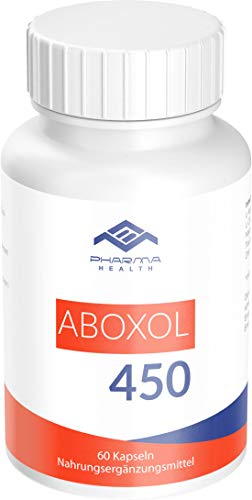 Muskelaufbau Kapseln | hochdosiert | 60 Kapseln | Aboxol 450
