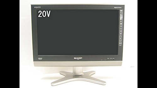 『SHARP AQUOS 20V型 地上・BS・110度CSデジタルハイビジョン液晶テレビ LC-20E5-B ブラック』のトップ画像