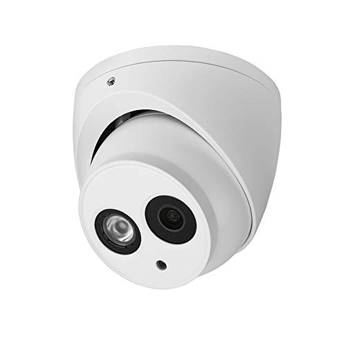 R-Tech 2MP 4-in-1 AHD/CVI/TVI/Analog Outdoor/Indoor Turret Dome Camera with Matrix IR Night Vision – 2.8mm Fixed Lens – White