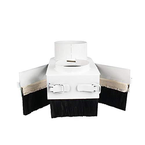 TOPCHANCES Spindelstaub Schuhabdeckung Reiniger für CNC-Fräsmaschine, 65 mm