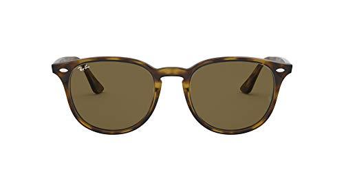 Ray-Ban Unisex – Erwachsene RB4259 Sonnenbrille, Mehrfarbig (Gestell: Havana,Gläser: braun 710/73), Medium (Herstellergröße: 51)