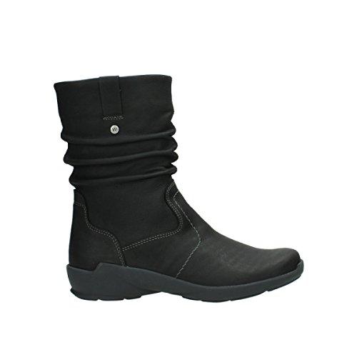 Wolky Comfort Stiefel Luna WP - 11002 schwarz Nubuk/Water Proof Warmfutter - 38