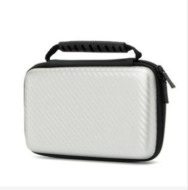 GOZAR EVA Hard Cover Game Player Handvat Bag Beschermende Pouch Case Voor Nintendo Nieuwe 2DS LL XL