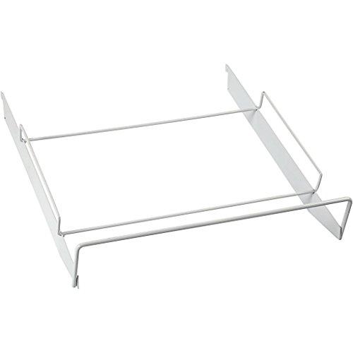 Étagère en fil métallique, taille 37 x 37 cm, blanc, 1 pièce.