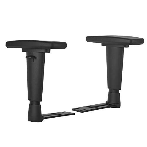 Replacement Adjustable Arms Armrest Upright Bracket with Pads Fits DXRacer...
