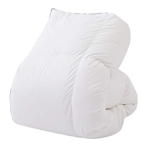 【Amazon.co.jp 限定】 東京 西川 SEVENDAYS 羽毛 布団 シングル 厳しい西川基準をクリア 西川品質 ダウン85% 日本製 セブンデイズ ホワイト KA09002504W