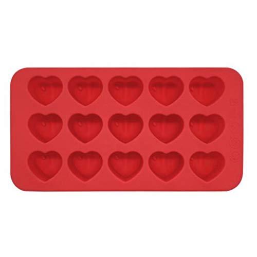 15 Silitäten Herz Silikonform Praline Praline Herzform DIY Herzform Herz Silikonform Niedlich Schön