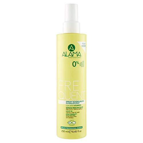 Alama Professional Frequent Spray Scioglinodi Uso Frequente senza Risciacquo per Tutti i Tipi di Capelli, Giallo, 250 Millilitri