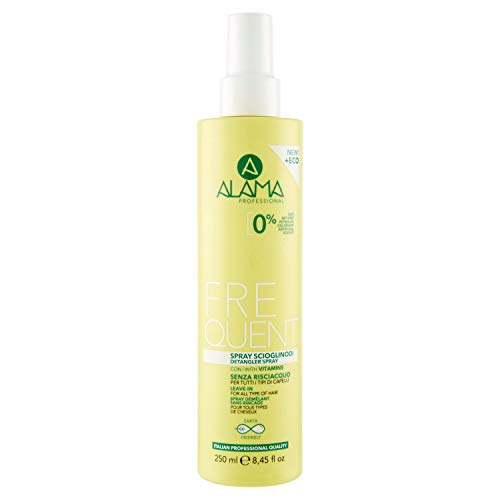 Alama Professional FREQUENT Spray scioglinodi uso frequente Senza Risciacquo per tutti i tipi di Capelli 250 ml