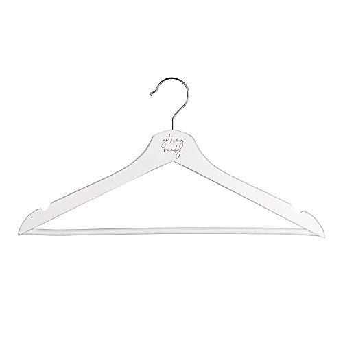 shopandmarry Houten kleerhanger, bruiloft, geschikt voor bruidsmeisjes en bruid, hangers voor bruidsmeisjes en kimono's
