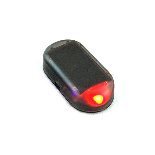 Hinmay Imitation alarme de voiture LED Système solaire d'avertissement, de sécurité anti-vol...