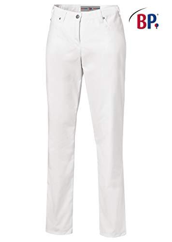 BP 1662 686 dames jeans gemengde stof met stretch wit, maat 38n
