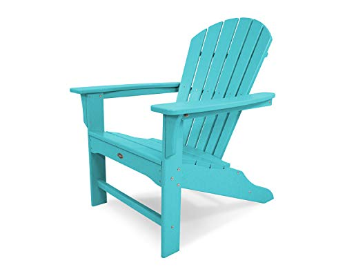 Trex Outdoor Furniture TXA15AR Yacht Club Shellback Adirondack Chair Aruba