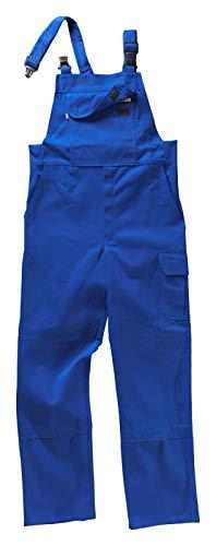 Beb Arbeits-Latzhose - mit Stretcheinsatz - kornblau - Größe: 52