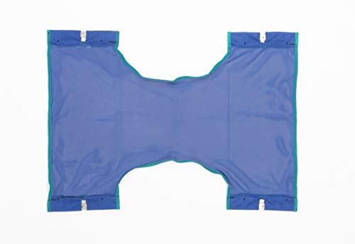 Invacare Standard Sling for Patient Lifts, Mesh Fabric, One-Size, 9046,Blue